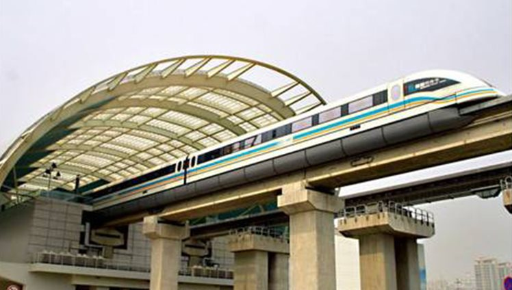 Transrapid in Shanghai