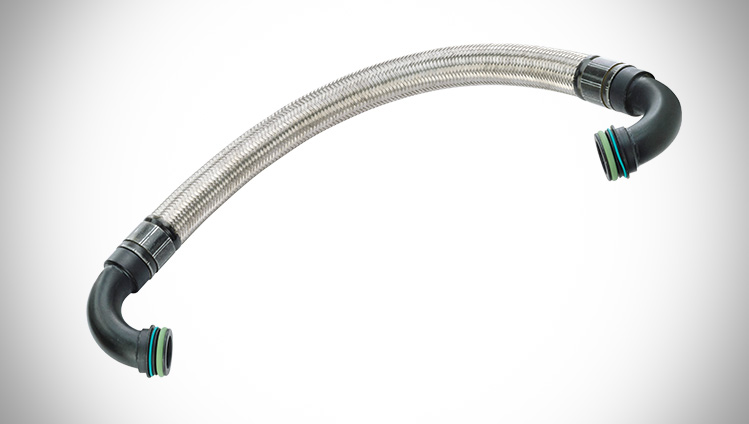 Tube From Pump Power Steering Pressure Line Hose Assembly For Continental