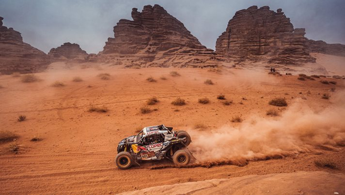 Driving comfort in off-road race