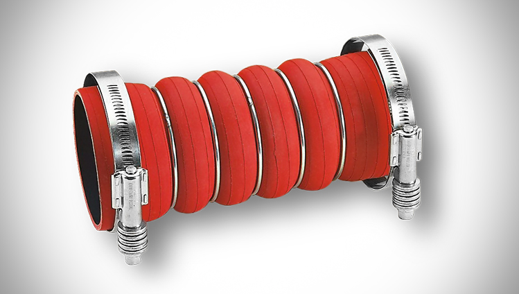 Wrapped charged air hoses
