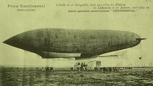 First german airship LZ-1