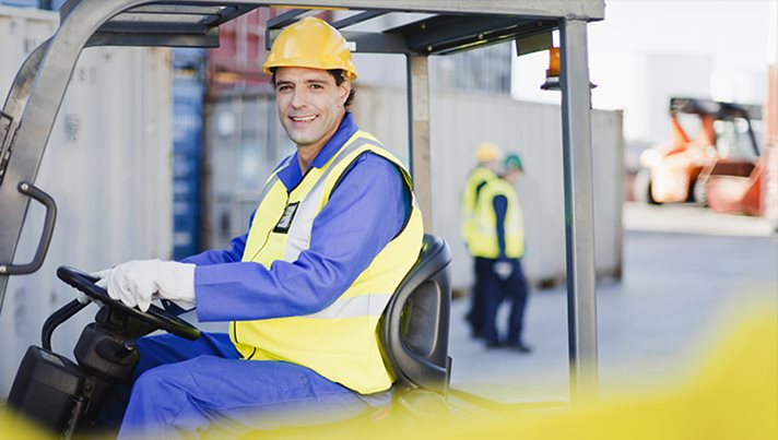 Material handling vehicles