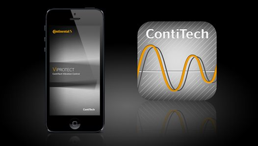 More services with ViProtect App: Analyzing vibrations using a smartphone