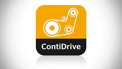Drive Belts Automotive Aftermarket: ContiDrive App