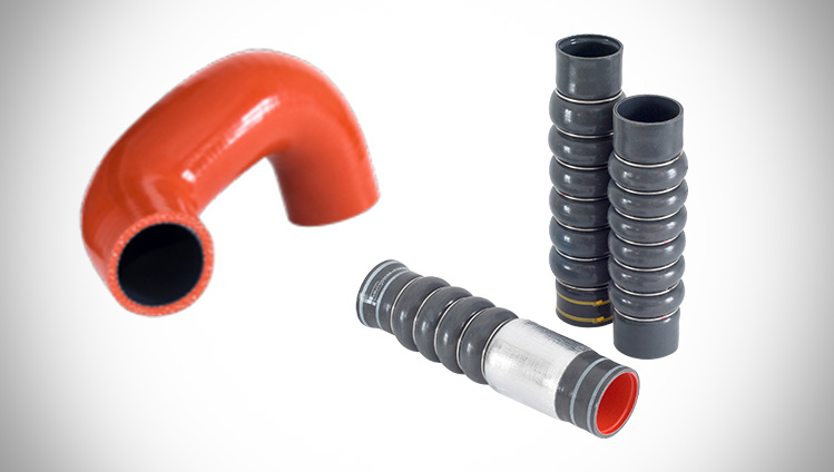 Wrapped Charge Air Hoses