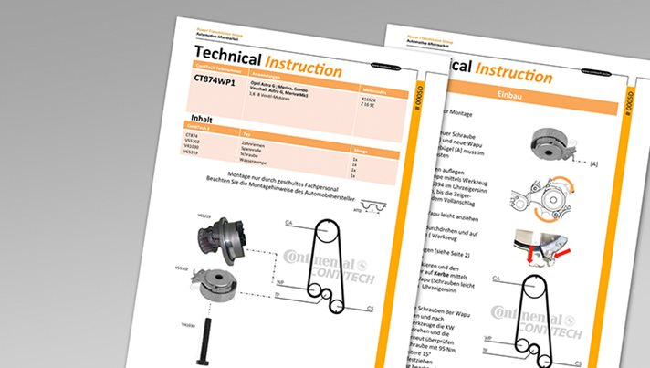 Fitting Instructions for Drive Belts expanded