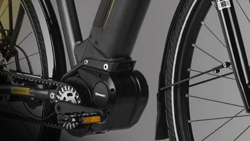 Drive System for eBikes and pedelecs