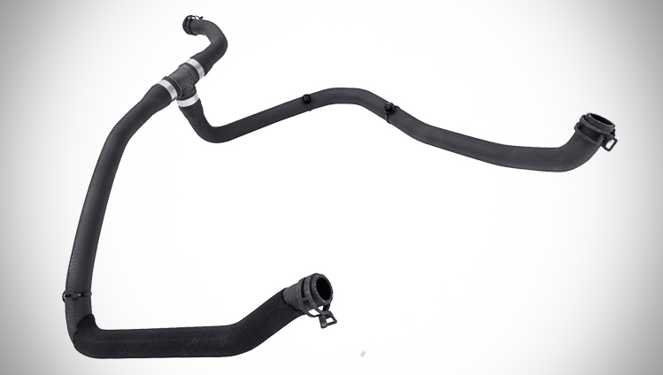 Efficient hoses and lines for electric vehicles