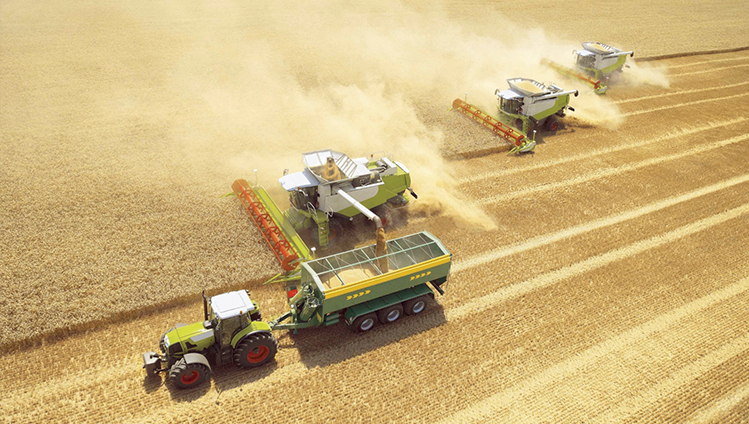 Agriculture vehicles & machines
