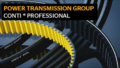 Drive Belts Industry: CONTI professional