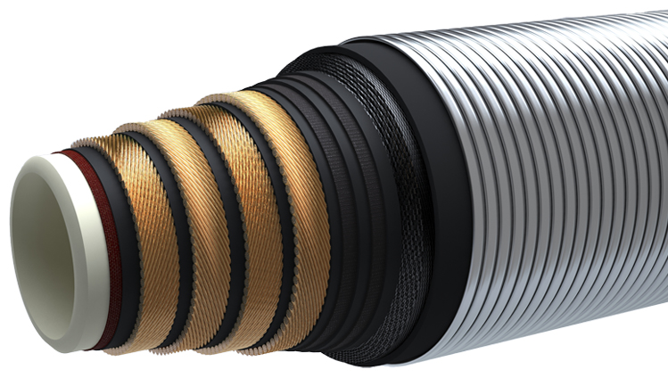 Mud Booster Hose Construction